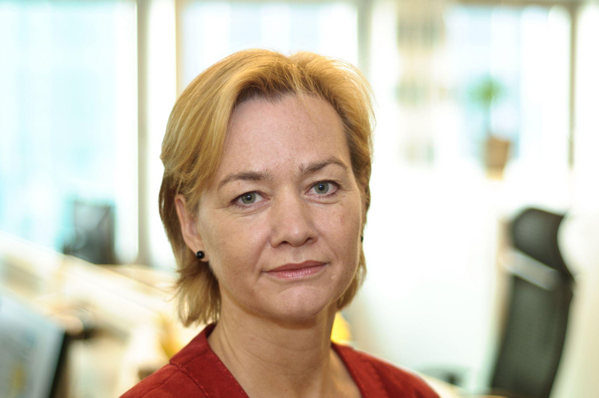 TAR OVER: Ellen Fonnlid Larsen blir konstituert  generalsekretær i Tekna når Kenneth Stien slutter 1. juli.