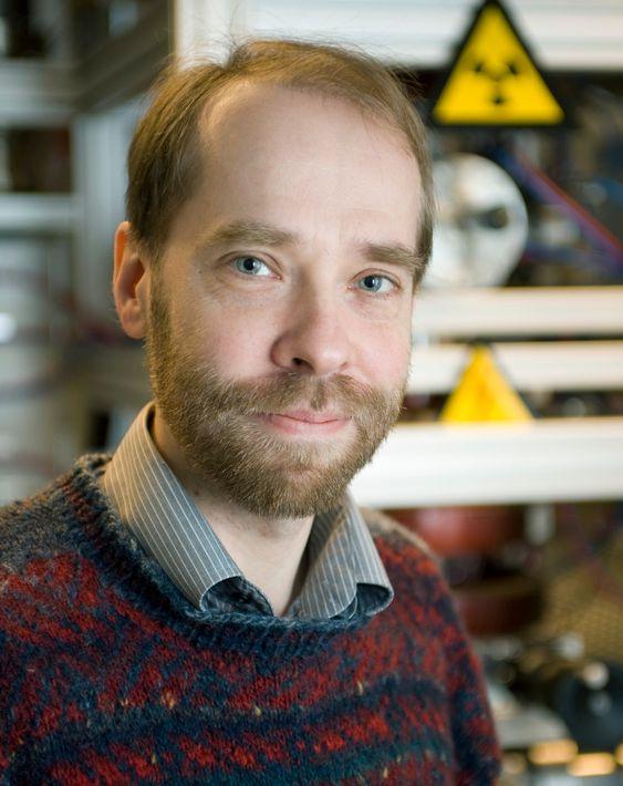 Fagansvarlig i nukleærteknikk Anders Nordlund ved Chalmers tekniske universitet
