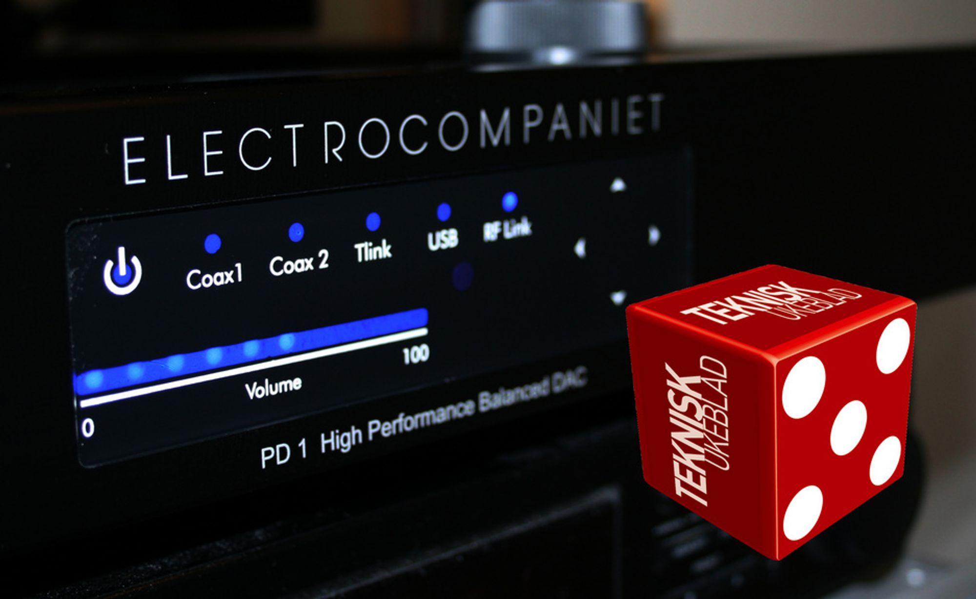 DAC: Electrocompaniet PD1 er et flott, men ikke feilfritt, produkt.