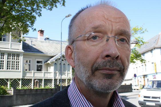 Fagsjef Egil Dragsund i OLF.