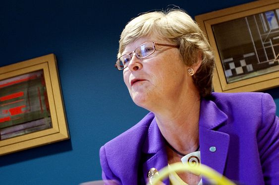 UROLIG: Teknas president Marianne Harg synes nedgangen i miljøinvesteringer er bekymringsfull.