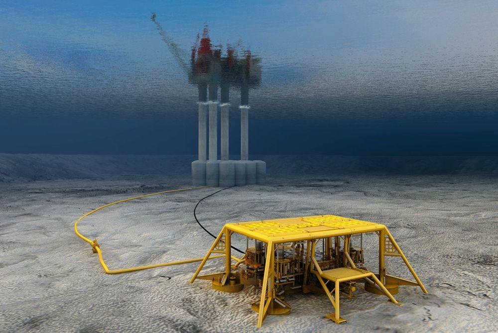 Statoils første fast-track prosjekt, Visund Sør, ble overlevert til OED i dag.