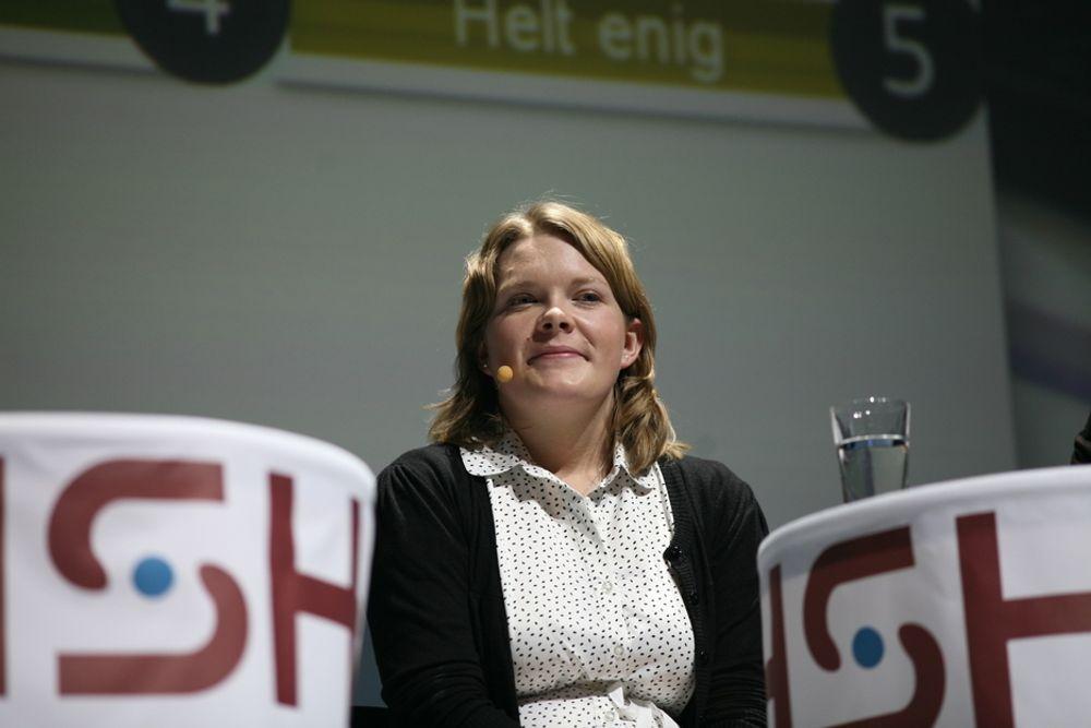 STRYK: NSO-leder Anne Karine Nymoen mener skolene stilte strengere krav til studentene før Kvalitetsreformen kom.