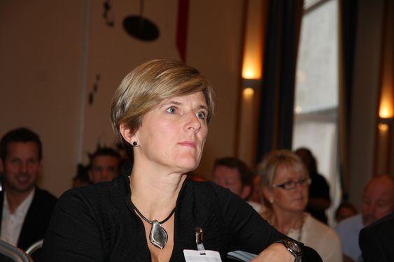 URO: Styreleder i Norsk Industris Maritim bransjeforening, Kjersti Kleven, er bekymret for konsekvensene av finansuro i Europa og uavklart situasjon for norsk eksportfinans.