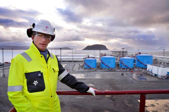 HAR MULIGHET: - Vi har kapasitet til å kunne ta imot gass fra flere felt i væskefangeren, men har behov for å øke kapasiteten i resten av anlegget, sier Øyvind Nilsen.
