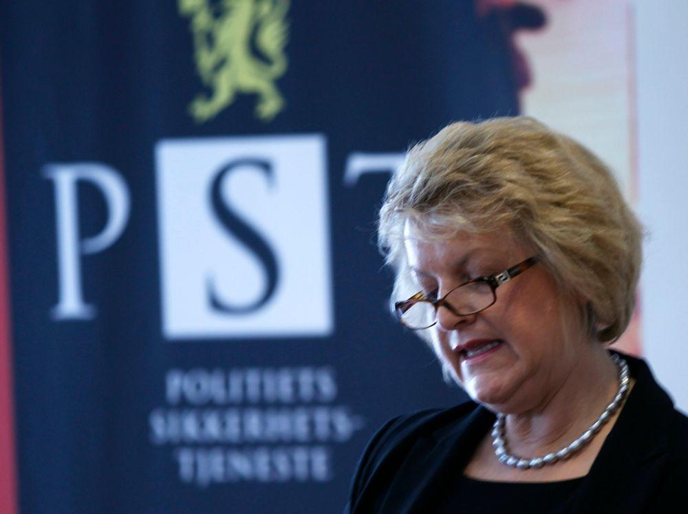 PRESENTERT NÅ: PST-sjef Janne Kristiansen la mandag fram sikkerhetspolitiets årlige vurdering av trusselbildet i og mot Norge.