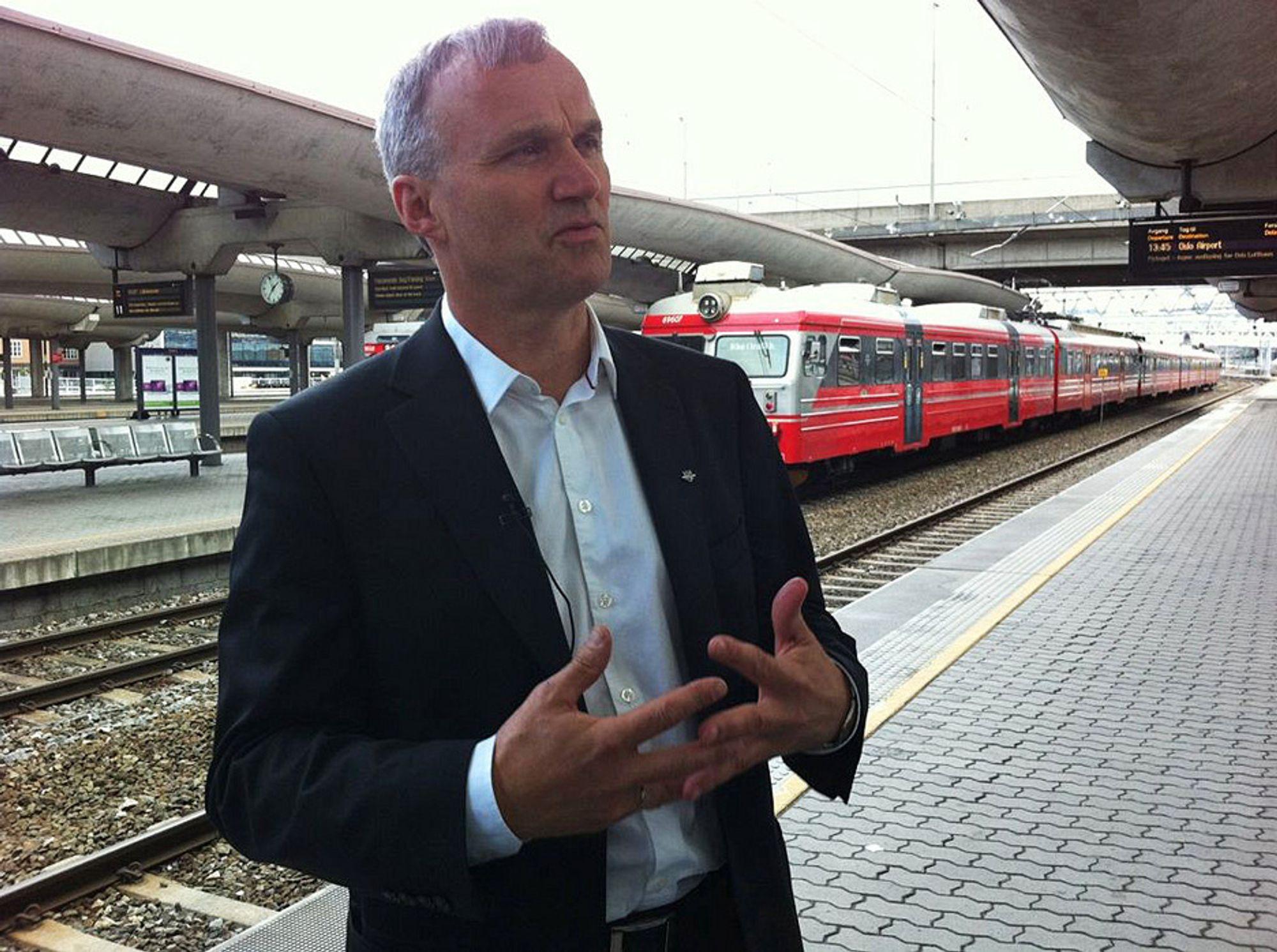 Geir Isaksen har i dag takket ja til å bli ny konsernsjef i NSB.