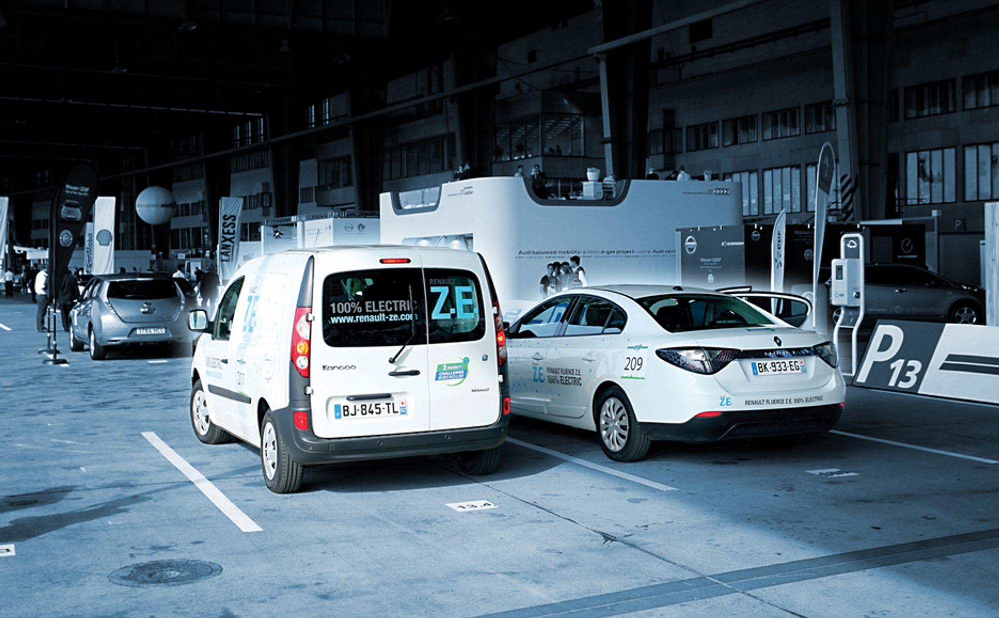 """NULL UTSLIPP?: """"Zero emmission"""" er et slagord som elbilprodusentene kan legge på hylla først som sist. Selv om strømmen kommer fra fornybare kilder, vil selve batteriet ha et solid CO2-fotavtrykk."""