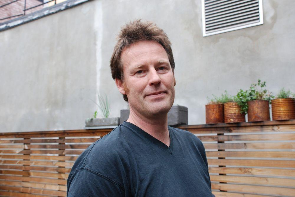 TENKER FRAMOVER: - Det er viktig for oss å beholde engasjementet, ikke bli en syvende far i huset, sier Bellonas daglige leder, Nils Bøhmer.