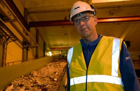 Geir Augdal, prosjektleder for fyllstoffprosjektet, Norske Skog, Skogn