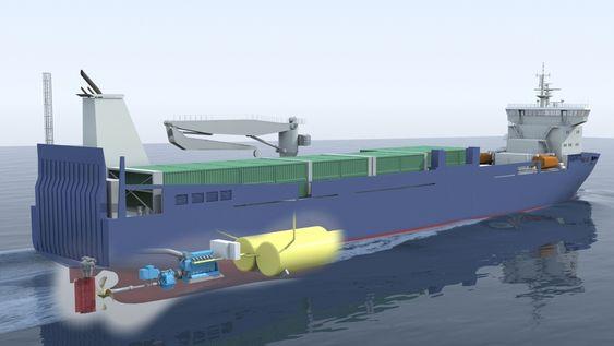 Sea-Cargo bygger to LNG-dreven fraktskip for trafikk langs norske-kysten og til kontinentet. Skipet kan gå 10 dager mellom hver LNG-bunkring.