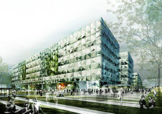 Niels Bohr Science Park, Nørre Campus, København.