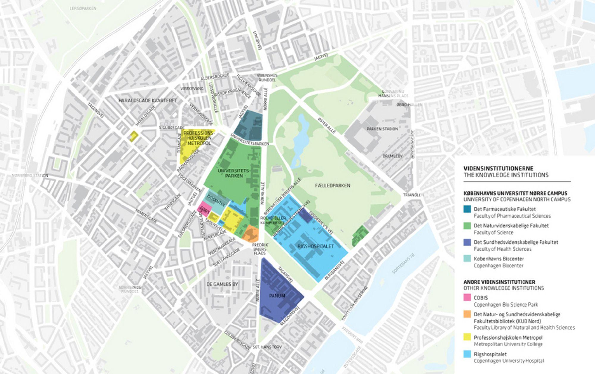 københavn sentrum kart København bygger egen vitenbydel   Tu.no københavn sentrum kart