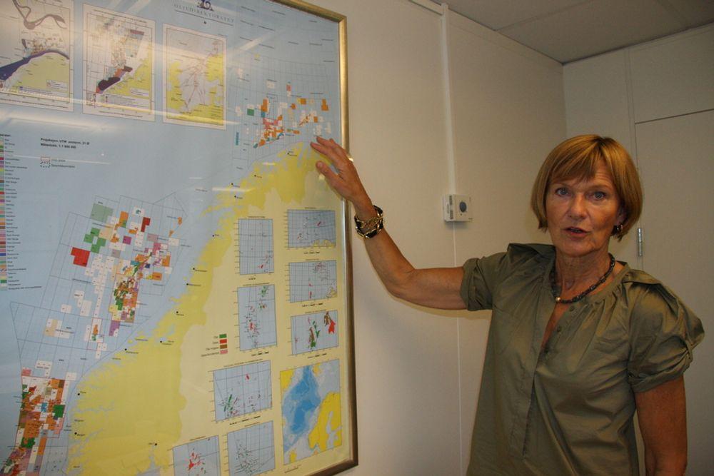 Gro Brækken, administrerende direktør i OLF, mener petroleumsmeldingen har forskuttert med en åpning av Lofoten og Vesterålen.