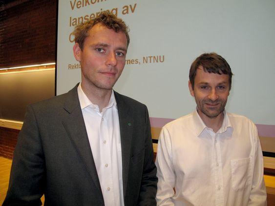 - PREMISSER FOR POLITISKE VALG: Olje- og energiminister Ola Borten Moe åpnet i dag det nye tverrfaglige energiforskningssenteret Censes i Trondheim.