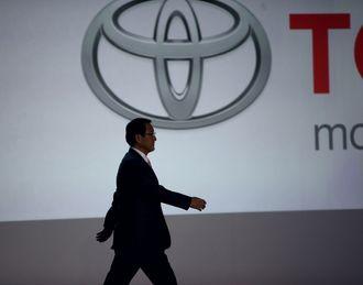 Toyota-sjef Akio Toyoda.