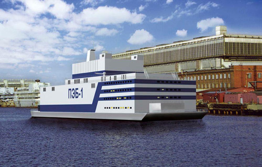 Russland vil bruke flytende atomkraftverk for å sikre energiforsyningen til landets arktiske strøk.