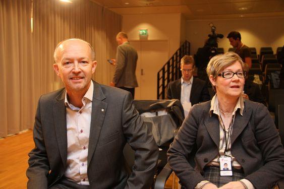 Letedirektør i Statoil, Tim Dodson, og letedirektør for norsk sokkel i Statoil, Gro G. Haatvedt, sier Statoil jobber for en rask utbygging av funnet.