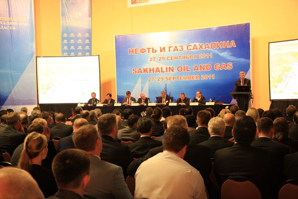 Samarbeid med og hjelp fra Norge var et sentralt tema på olje og gass-konferansen i Yuzhno-Sakhalinsk onsdag.