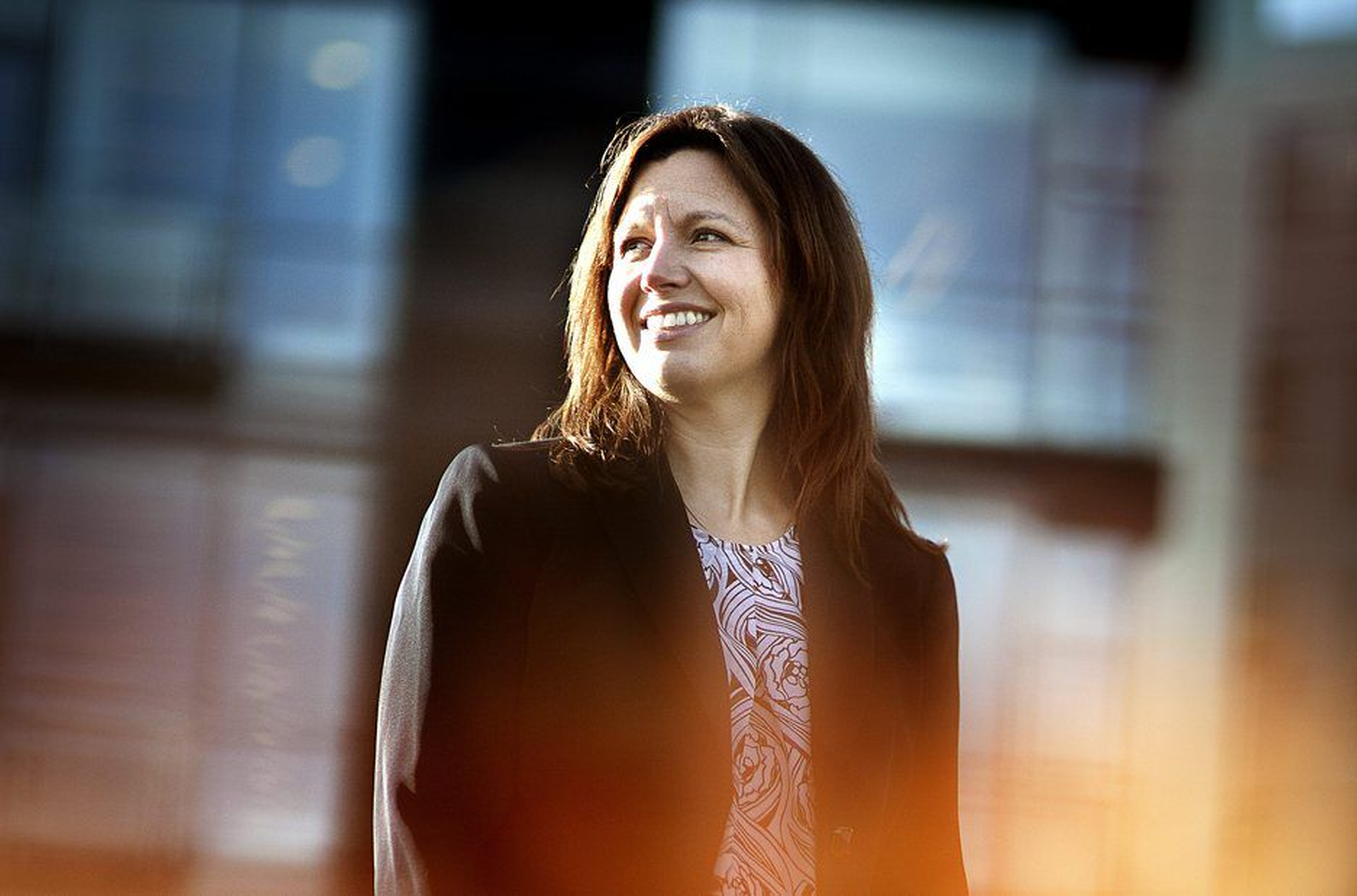 Det er morsomme tider i Aker Solutions, ifølge engineering-leder Astrid Skarheim Onsum.
