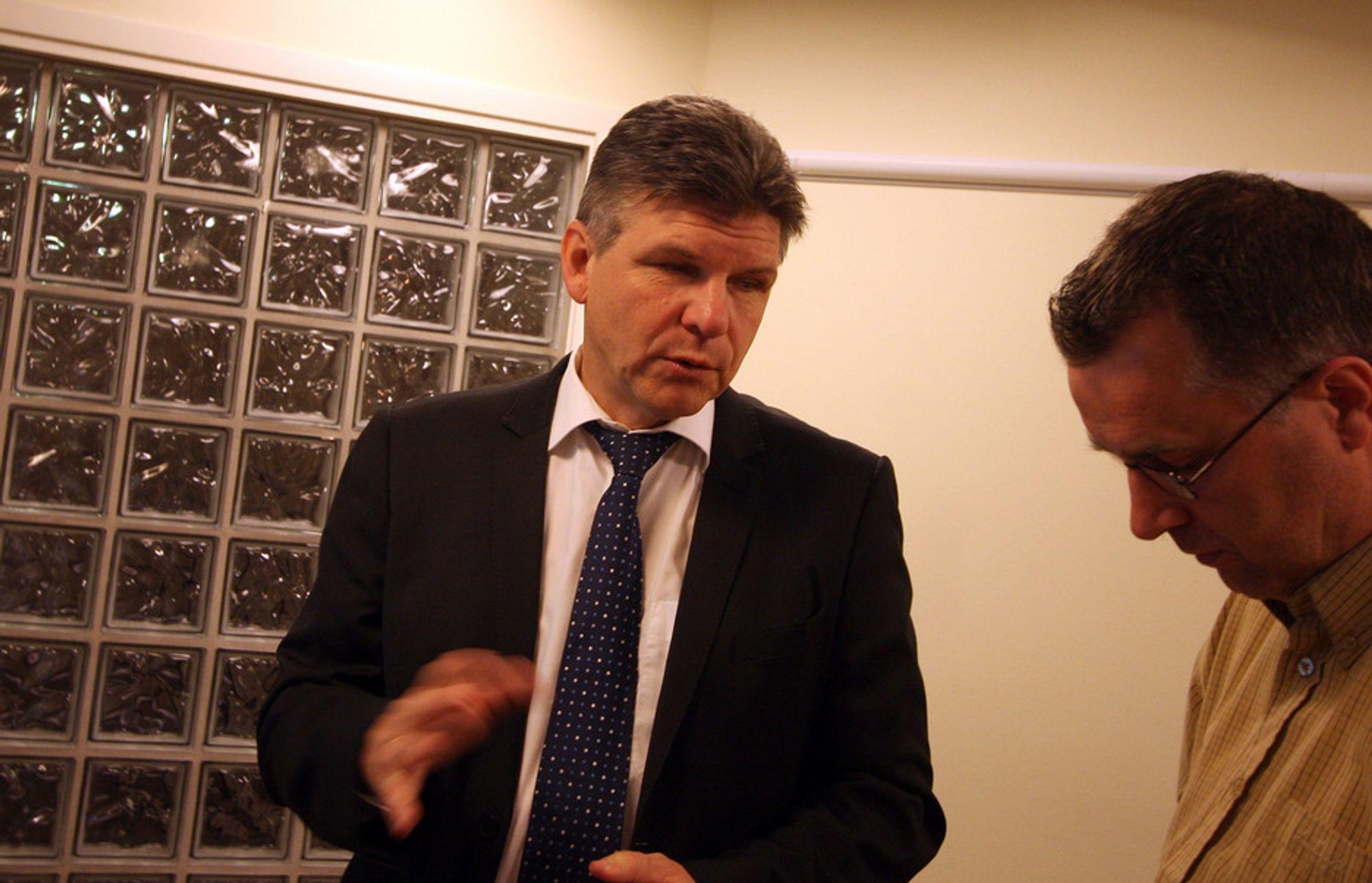 VIKTIG TID: Det blir et avgjørende år for administrerende direktør i North Energy Erik Karlstrøm.