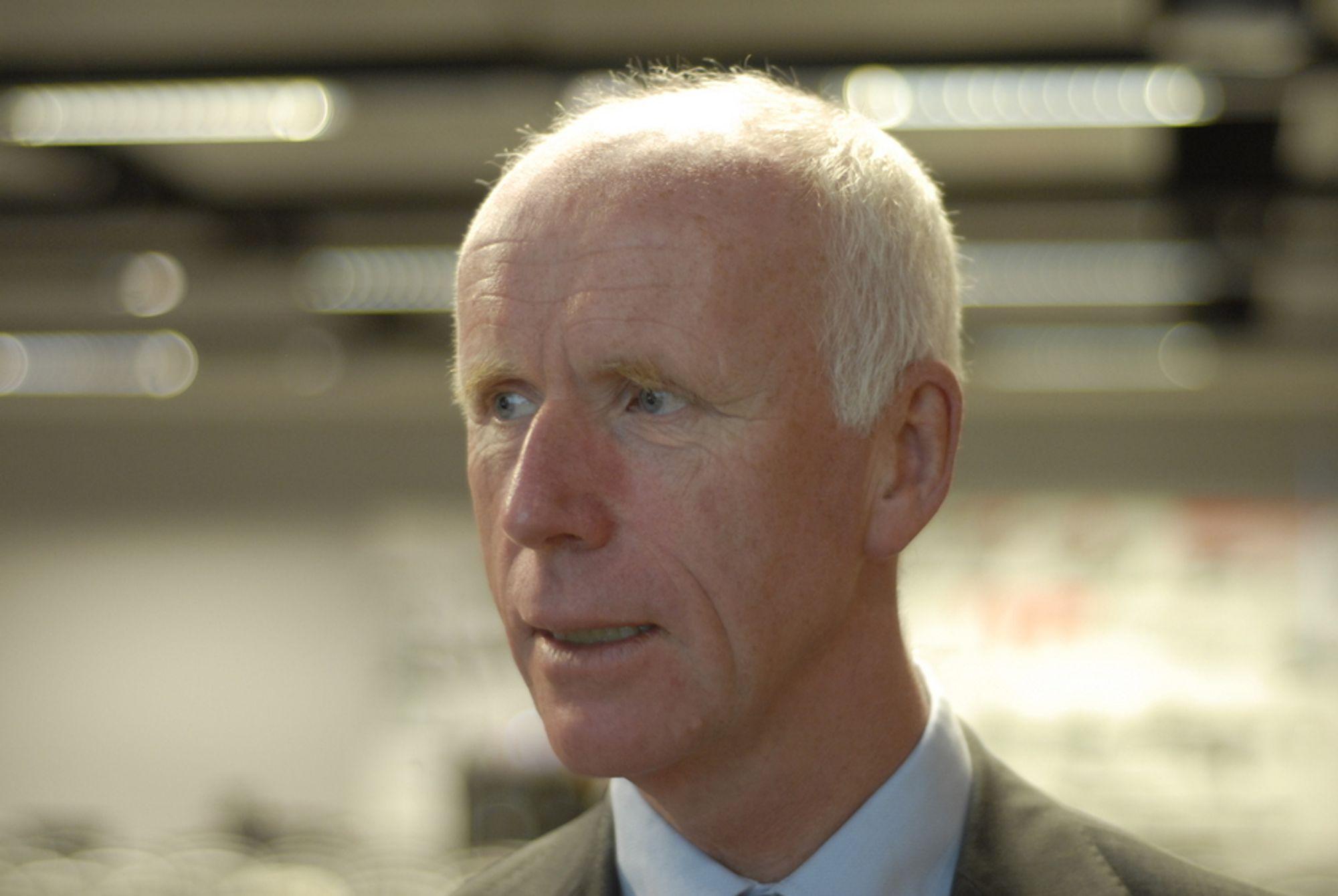 HASTER: Det haster med å få en avklaring på Norges fornybarforhandling med EU, mener påtroppende NVE-sjef Per Sanderud.