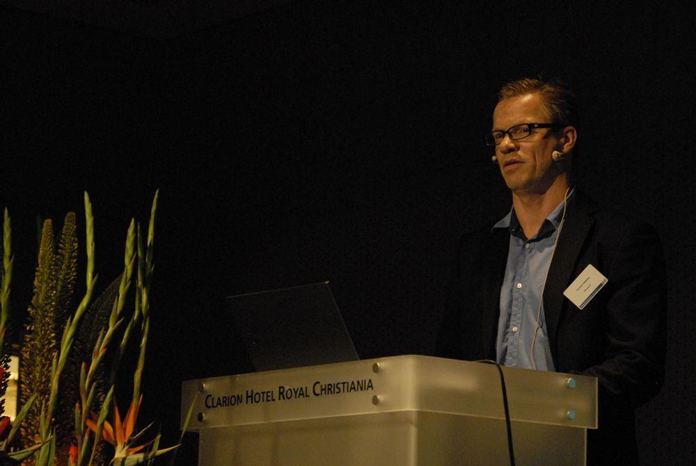 STOR RISIKO: Små nettselskaper skaper usikkerhet for kraftutbyggerne, mener administrerende direktør Tor Arne Pedersen i Scanergy.