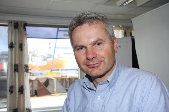 AMBISJONER: Kværner har ambisjoner om å vokse internasjonalt med EPC-kontrakter for kompleske installasjoner og på betongplattformer, ifølge Lars Eide .