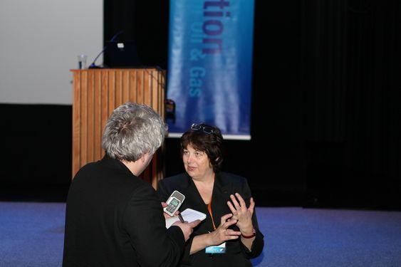 Bente Nyland direktør Oljedirektoratet Hammerfest Barentshavkonferansen 2011
