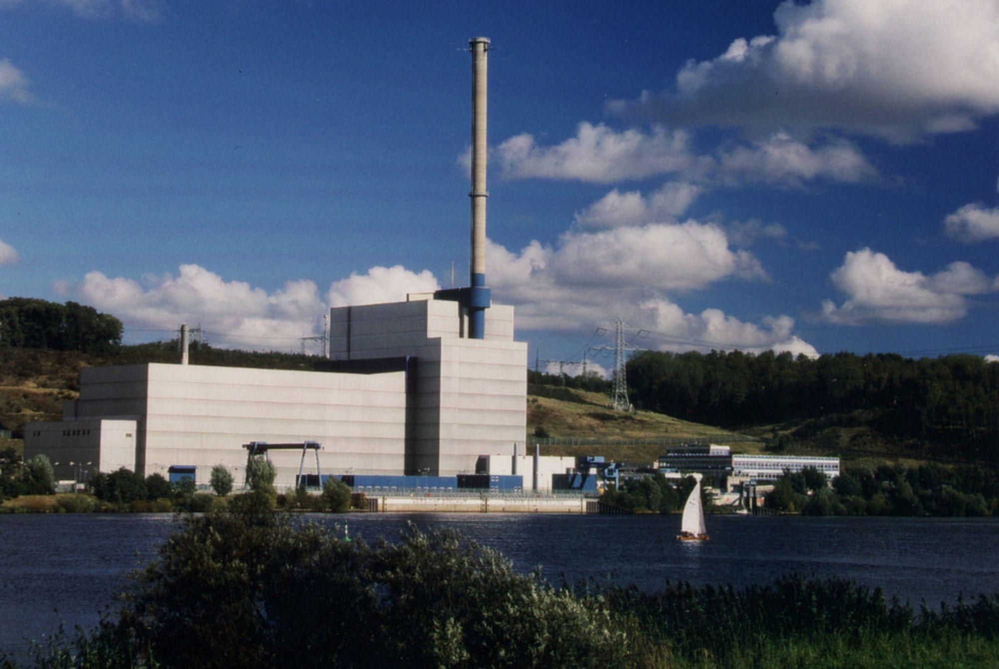 TAPER STORT: Vattenfall har måttet nedskrive verdier i sine atomkraftverk i Tyskland, blant annet Krümmel i Schleswig-Holstein (bildet), etter Tysklands beslutning om å fase ut kjernekraften.
