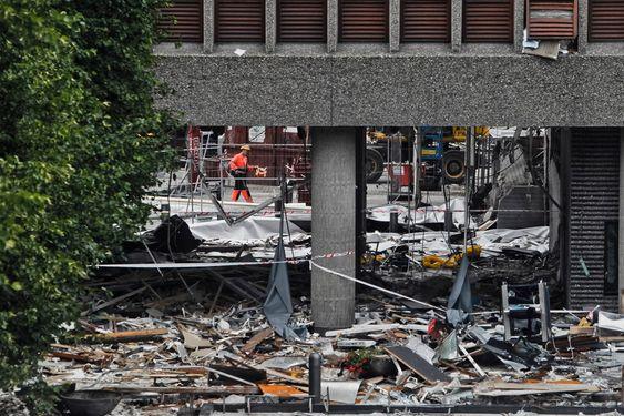 høyblokka bombe bombebil eksplosjon statsbygg