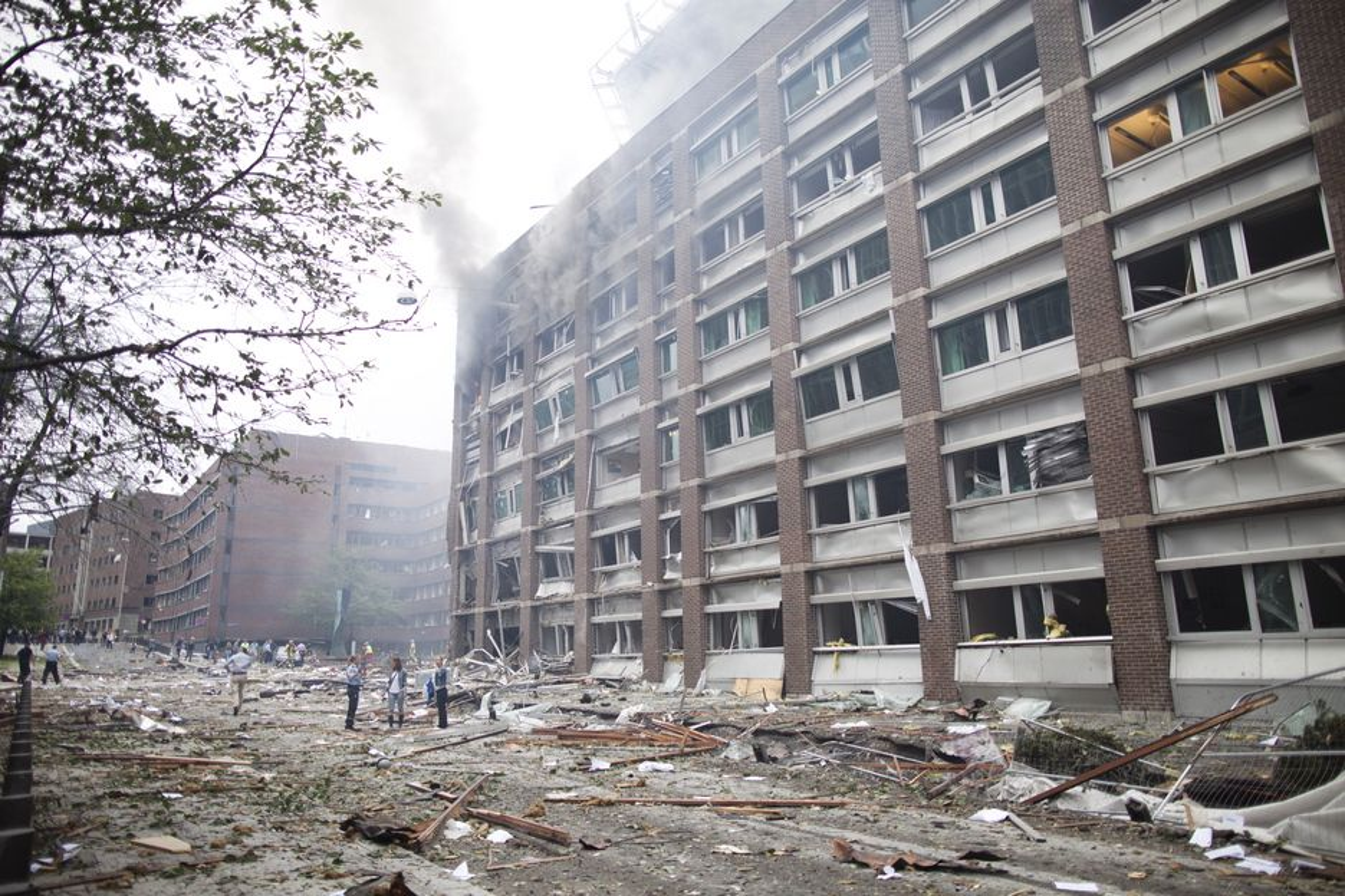 DOKUMENTERT: Politiet har sikret seg opptak fra regjeringskvartalet før, under og etter angrepet 22. juli.