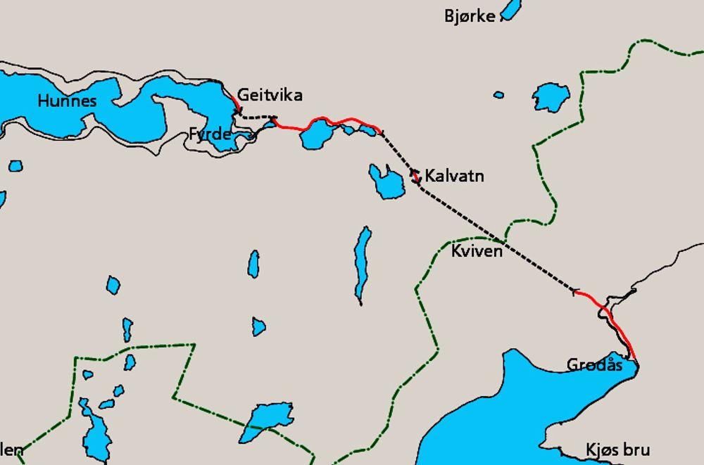 Anbudene på elektro og SRO på Kvivsvegen ligger langt lavere enn det Vegvesenet regnet med. Lavest ligger E.on ES.