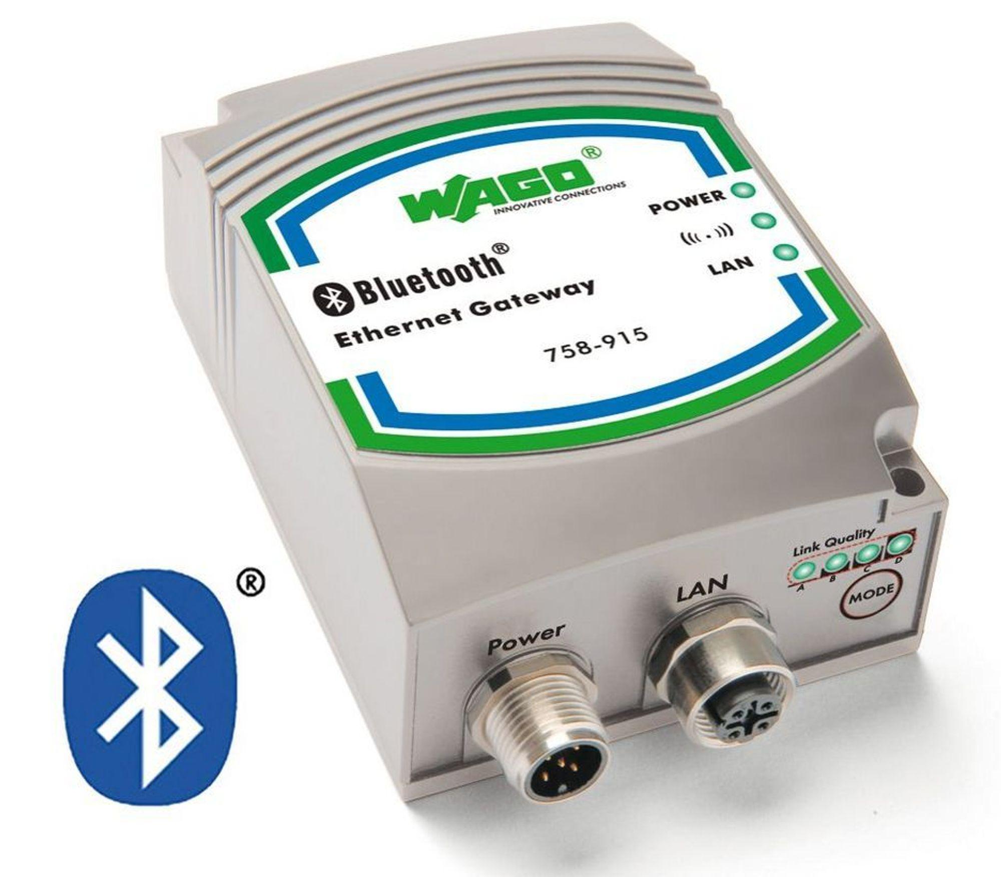 Trådløst Ethernet via Bluetooth