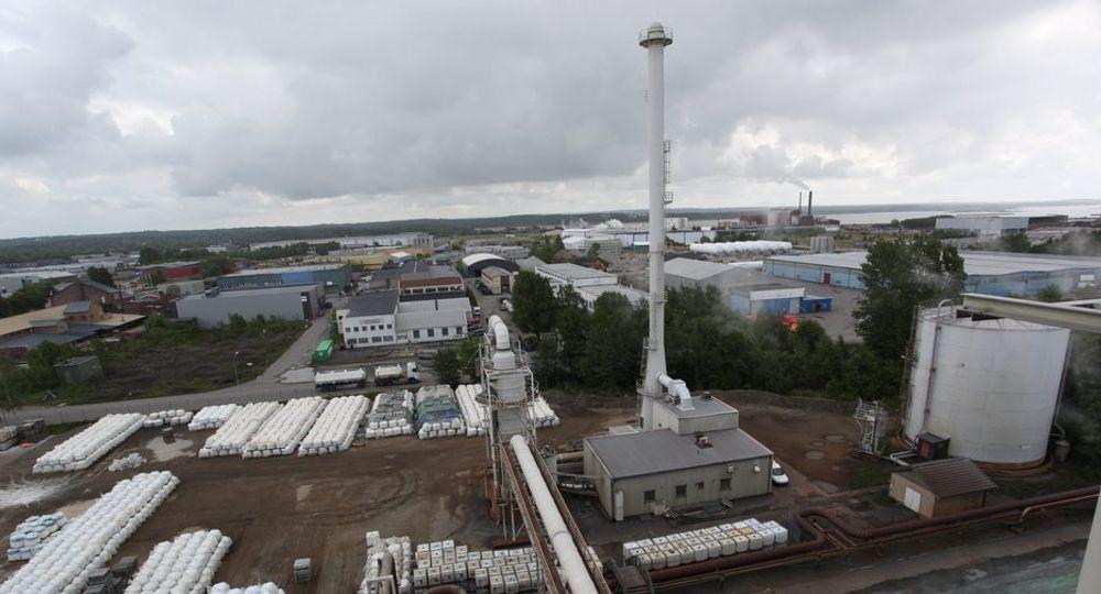 ØRA INDUSTRIPARK: Også her har DVS Norge lagret farlig avfall ulovlig. Tidligere i uken ble det kjent at de hadde lagret avfall hos Oleon i Sandefjord. Ingen av stedene hadde tillatelse til å lagre farlig avfall.