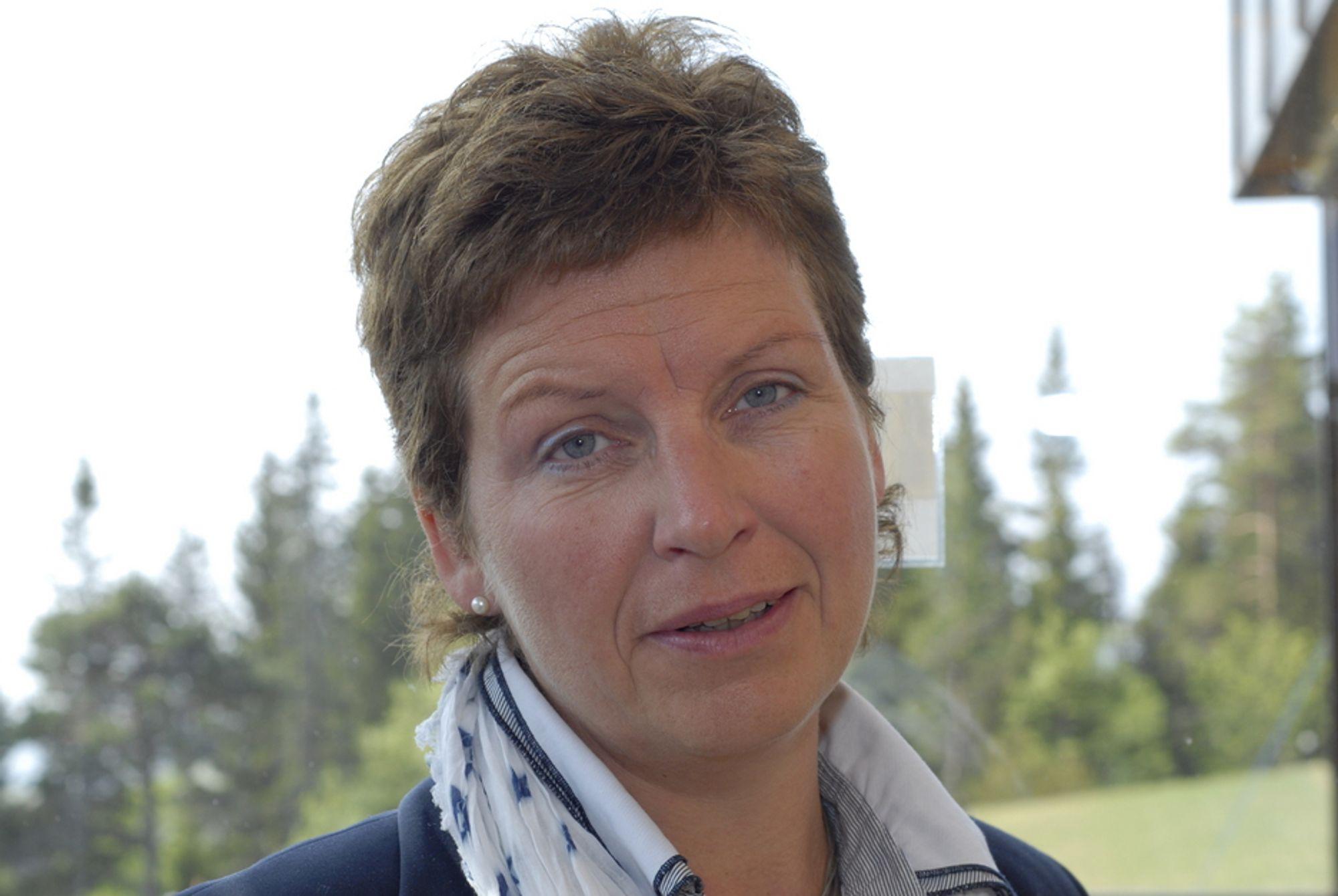VEKSTEN AVGJØR: Veksten i energiforbruket avgjør hvor vanskelig det blir å nå fornybarmålet på 67,5 prosent, ifølge statssekretær Eli Blakstad (Sp) i Olje- og energidepartementet.