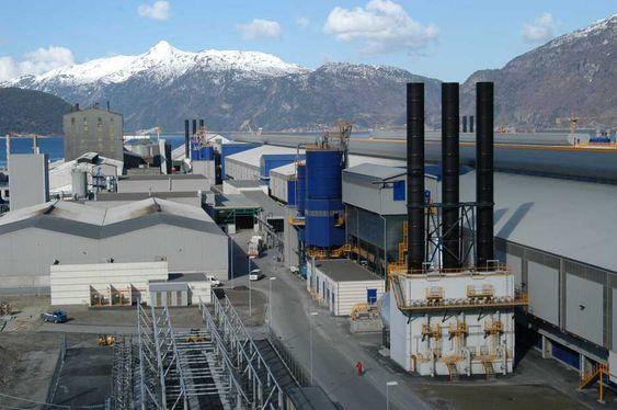 FILTER: Alstoms teknologi sørger for gjenvinning av fluorider som sparer Hydro Aluminium i Sunndal store beløp, og som sparer miljøet rundt for skadelige utslipp av fluorider.