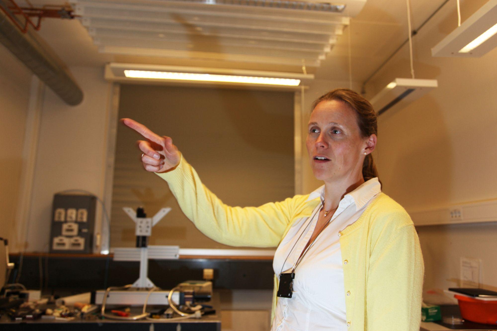 Lise Lyngsnes Randeberg er president i Tekna. Hun er misfornøyd med sammensetningen av den nye produktivitetskommisjonen.
