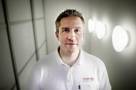 Morten Solsem, Produktsjef Varmepumper / Klimakjøling. ABK Klimaprodukter.