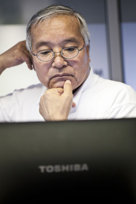 Japaneren Katashi Tarekado i ABK Klimaprodukter og Toshiba