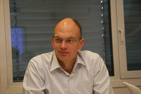 FRA ELKEM: Eric Staurset har sittet på kundesiden av bordet. Han kom til Alstom fra Elkem i april i år, og har nå ansvar for aktivitetene i Norge.