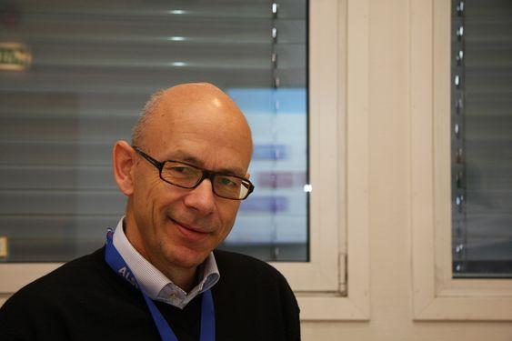 FARTSTID: Arne Ellestad, adm.dir Alstom Power Systems Norway, har vært med fra virksomheten het Norsk Viftefabrikk.