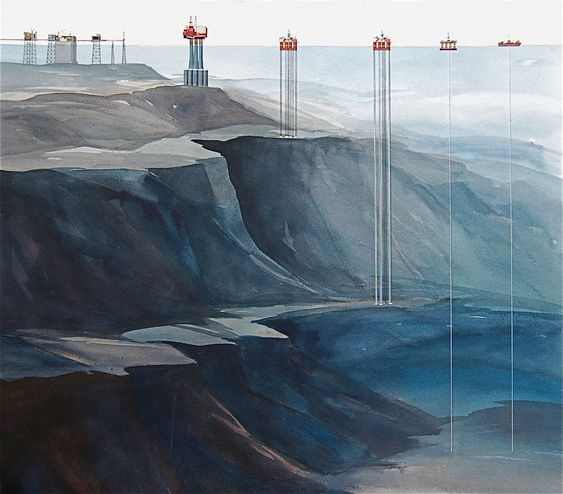 Illustrasjon, Statens Vegvesen vil ha offshorekompetane til kompliserte fjordkryssinger på E39