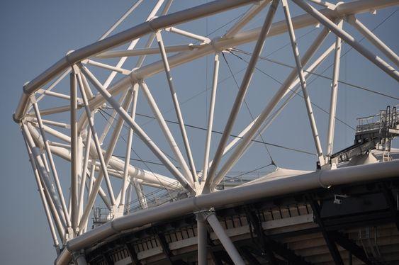 KAN DEMONTERES: Londons OL-stadion har 80000 sitteplasser og har kostet 486 millioner pund å bygge.