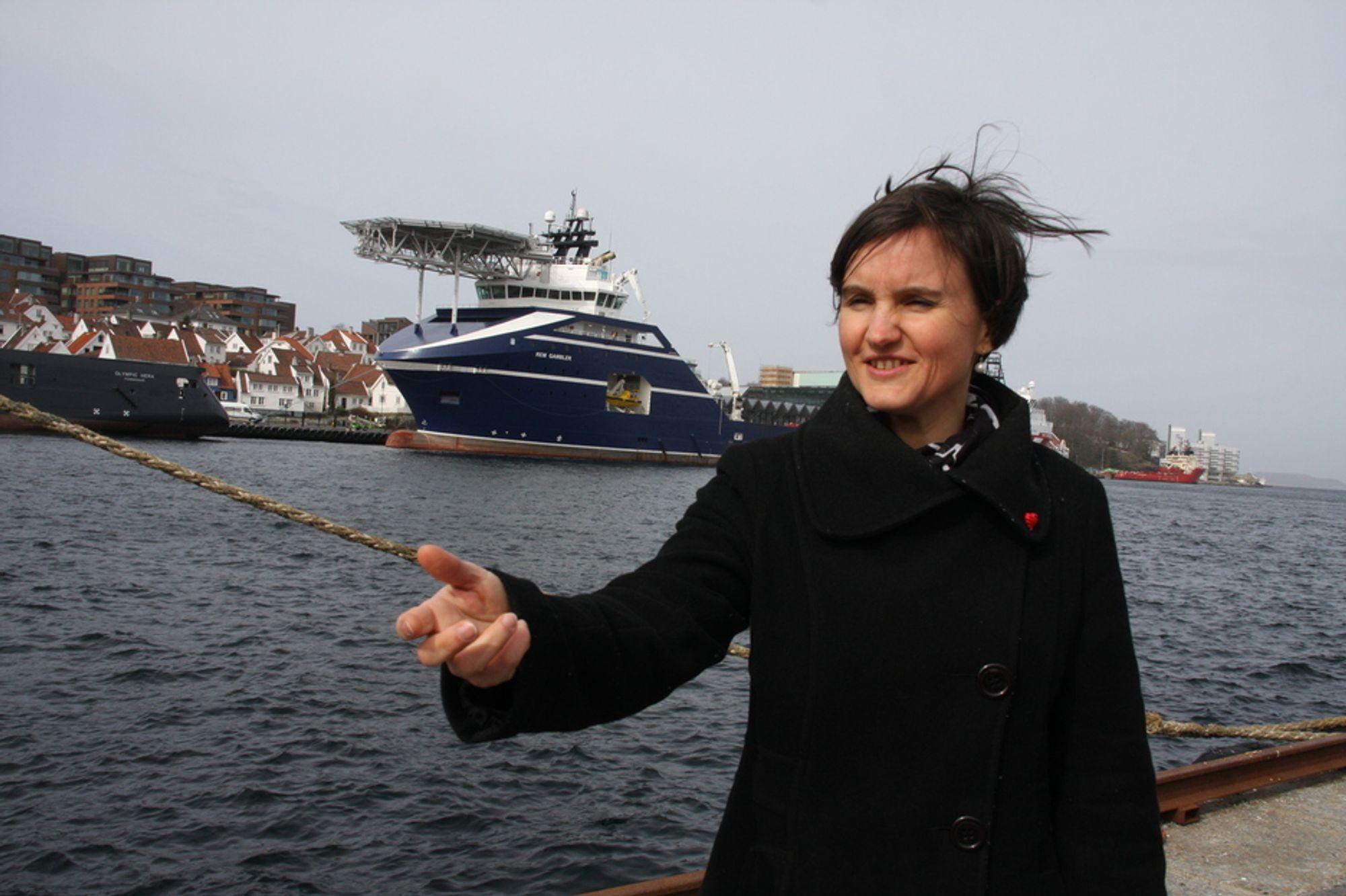 UTFORDRING: It-direktør Sonja Chirico Indrebø i Statoil legger ikke skjul på at det ikke er like lett å drive integrerte operasjoner i Brasil som i Nordsjøen.