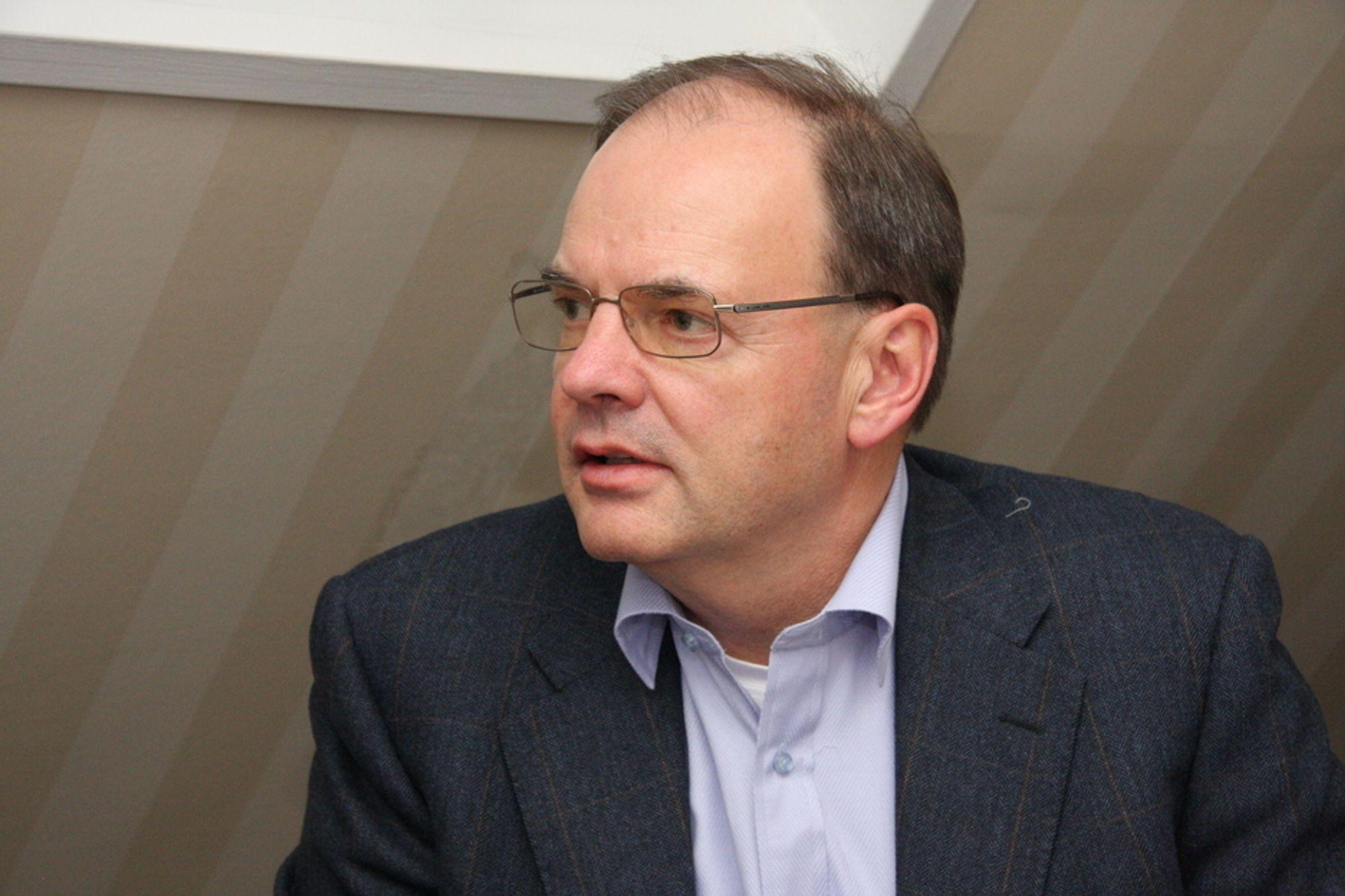 NOK: Energi Norges administrerende direktør Hans Erik Horn mener kraftkommunene får nok allerede.