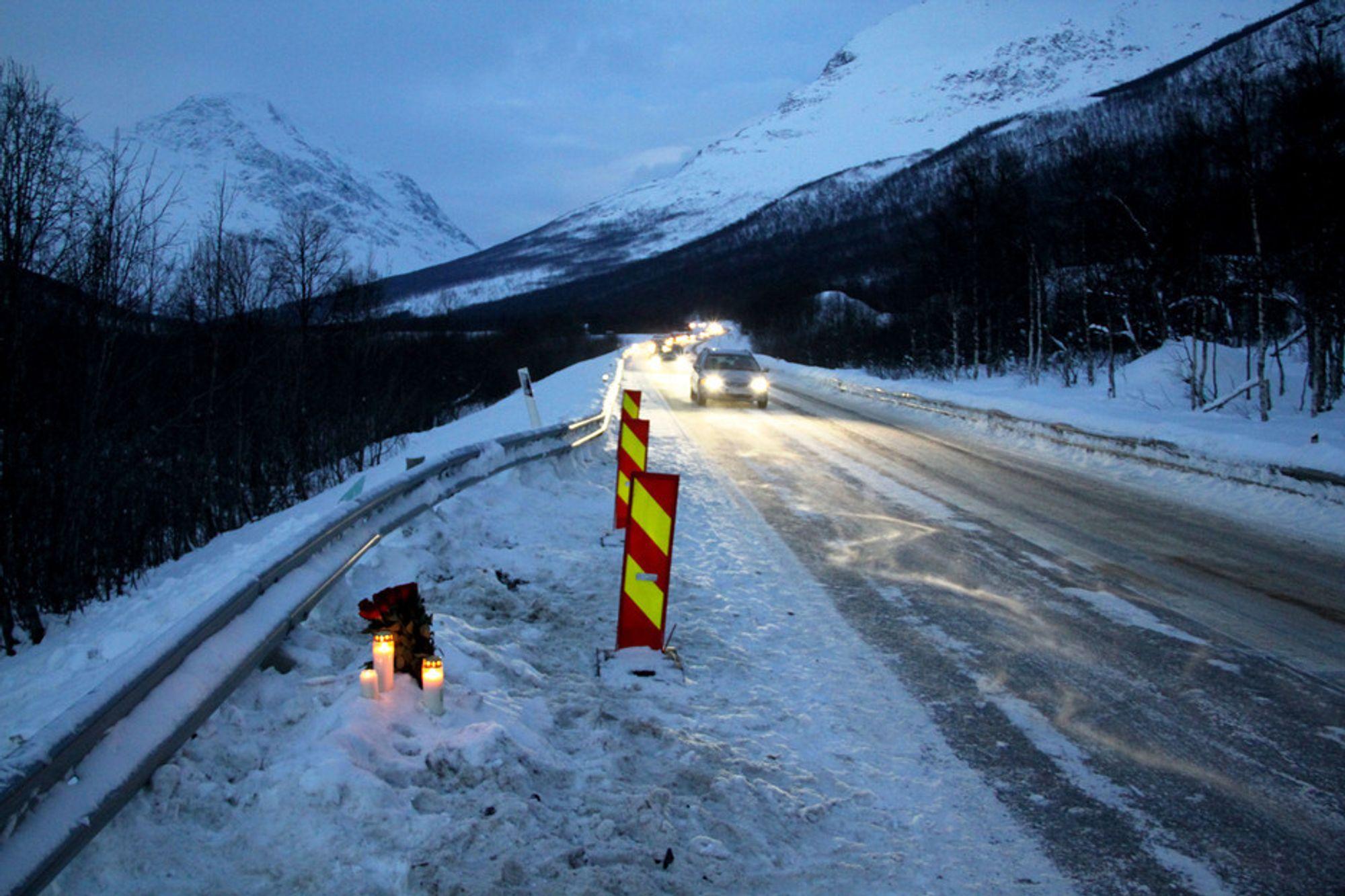 TRAGEDIE: Fem mennesker mistet livet og mange ble skadet under ulykken i Lavangsdalen 7. januar.