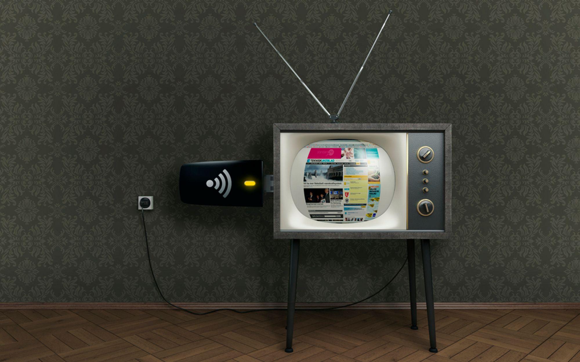 MOBILT: Frekvenser som tidligere kringkastet analog tv skal brukes til mobilt bredbånd, men teleoperatørene har ennå ikke fått spesifikasjonene for bruken.