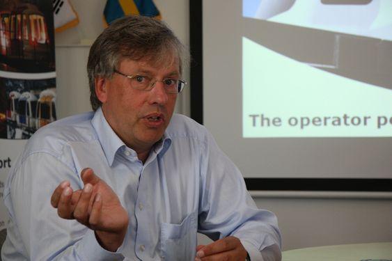 MILLIARDBUTIKK:  i 2020 burde det være mulig å selge for 100 milliarder per år. Mer enn hvor stort markedet er, er det snakk om hvor raskt det tar av, sier Jörgen Gustafsson, administrerende direktør i Vectus Sverige, om banen han arvet fra Norge.