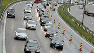 Vurderer tungtrafikk i kollektivfeltet